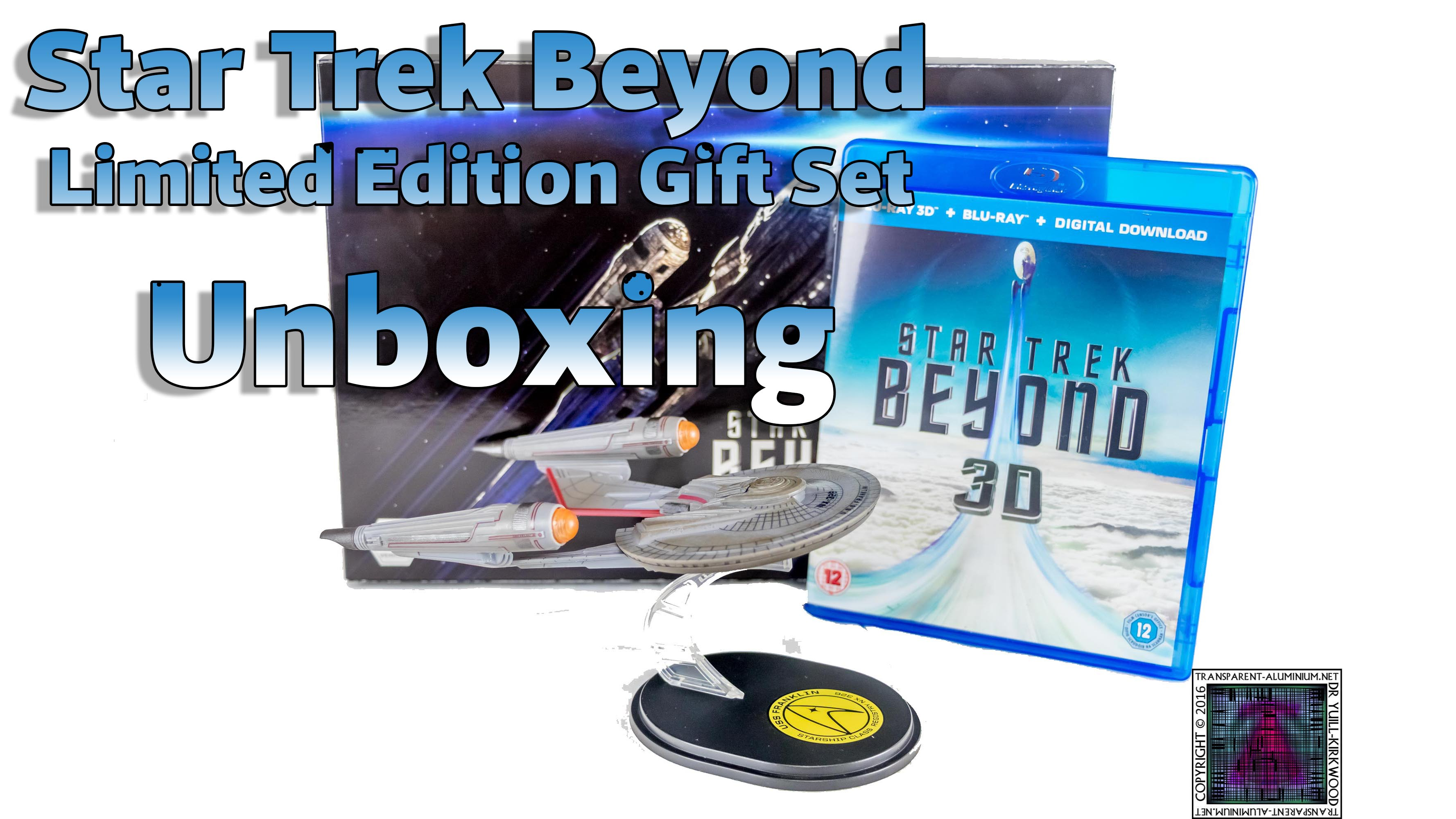 Star Trek Beyond Limited Edition Gift Set Unboxing thumb