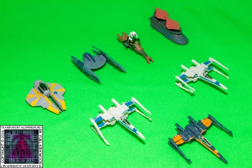 Star Wars MicroMachines Blind Bags (8)