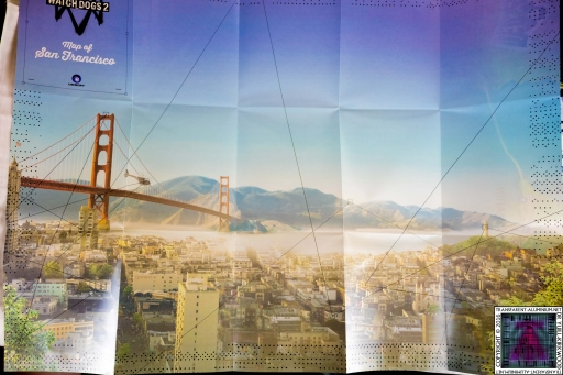 Watch Dogs 2 San Francisco Poster