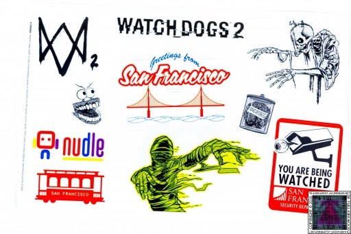 Watch Dogs 2 Stickers