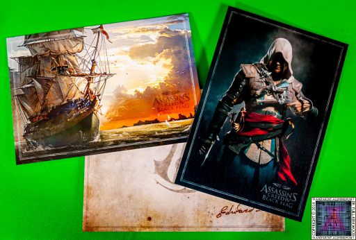 Assassins Creed IV Black Flag Buccaneer Edition Lithographs