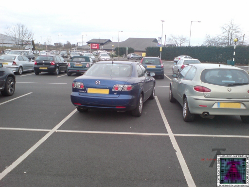 Perfect parking Astra