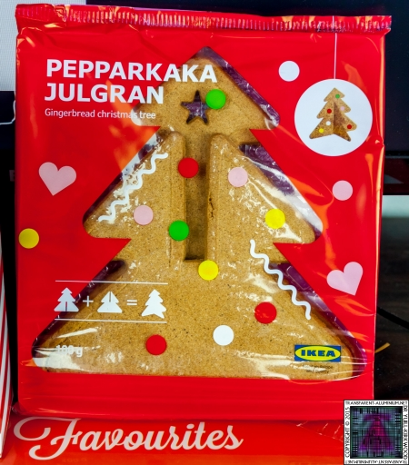 Christmas Tree Gingerbread - Lets Build