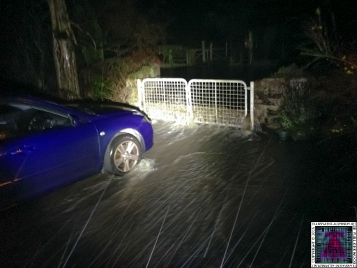 Gates Working Like a Dam - Cumbria Flooding December 2015 (3)