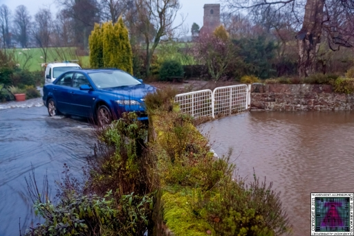 Gates Working Like a Dam - Cumbria Flooding December 2015 (5)