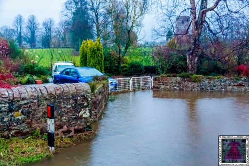 Gates Working Like a Dam - Cumbria Flooding December 2015 (6)