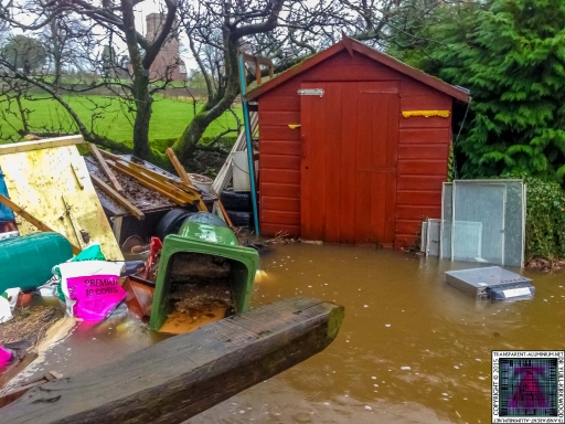 My Chicken Coop Shed - Cumbria Flooding December 2015