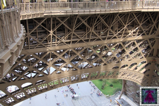 Eiffel Tower 1st Level