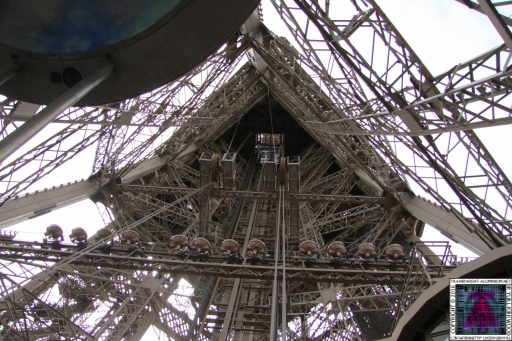 Eiffel Tower Super Structure