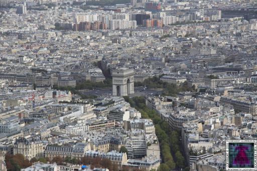 Eiffel Tower Top Deck