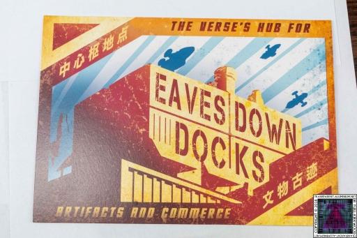 Eavesdown Dock Postcard