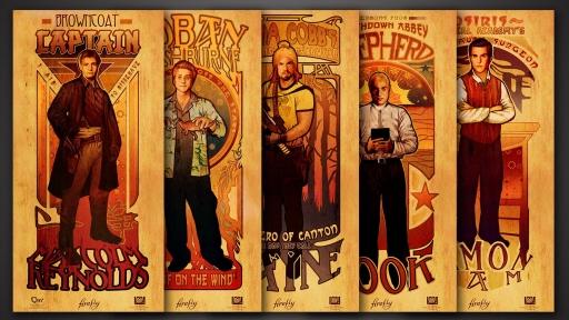 Firefly Les Hommes Poster Set