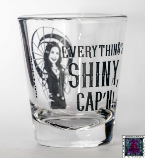 Everythings Shiny Shot Glass