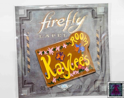 Keylee's Room Sign Pin