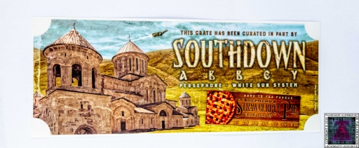 Southdown Abbey Sticker