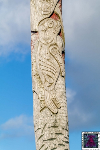 First Nations and Orcadian Totem pole (4)