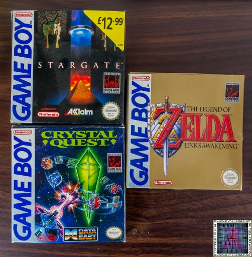 Game Boy Game Boxes
