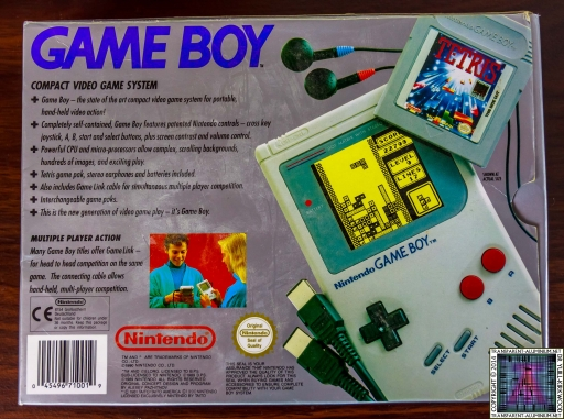 Game Boy Original Box