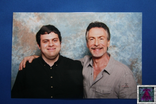 Me and Robin Sachs