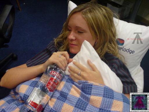 Gemma on night shift