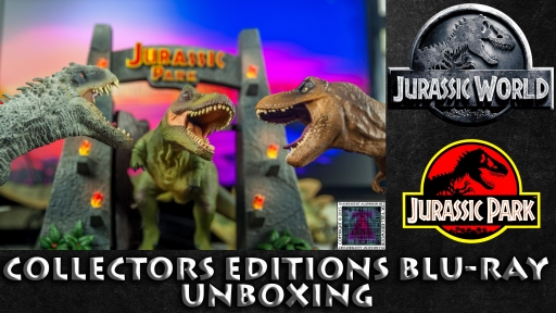 Jurassic World and Jurassic Park Blu-ray Collector's editions thumb.jpg