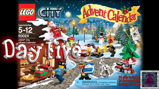 LEGO City Advent Calendar 60024 thumb - Day 05