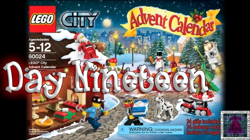 LEGO City Advent Calendar 60024 thumb - Day 19