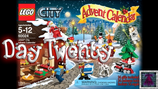 LEGO City Advent Calendar 60024 thumb - Day 20