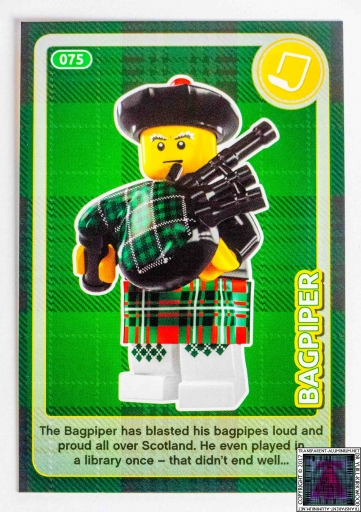 Bagpiper LEGO Create The World Cards (8)