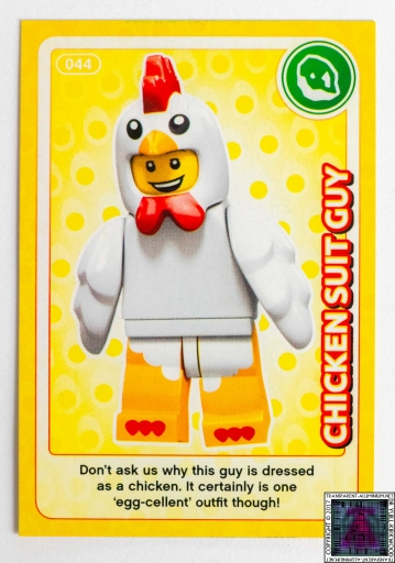 Chicken Suit Guy LEGO Create The World Cards