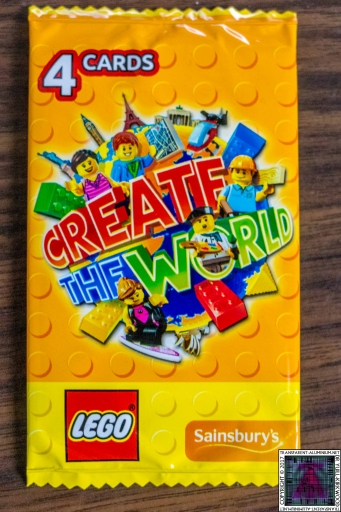 LEGO Create The World Cards (3)