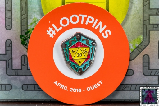 Loot Crate - April 2016 Quest Pin