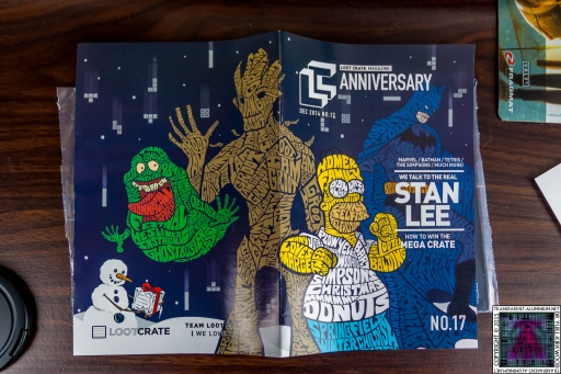 Loot Crate - December 2014 Anniversary Magazine
