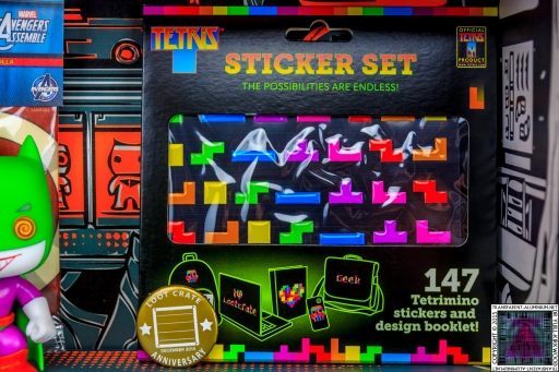 Tetris Sticker Set (1)
