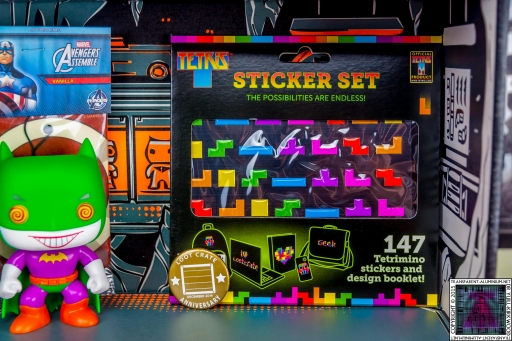Tetris Sticker Set (2)