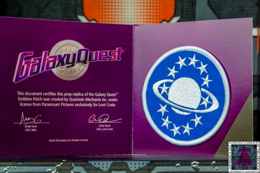 Galaxy Quest Emblem Patch (1)