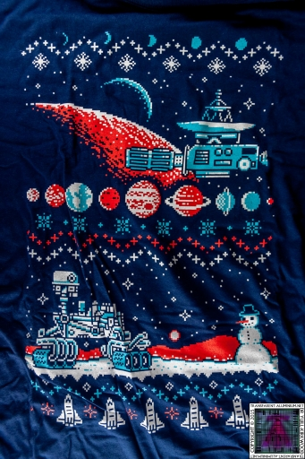 Loot Crate Galaxy Holiday Sweater T-Shirt