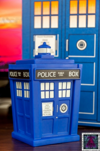 Doctor Who Vinyl TARDIS (1)