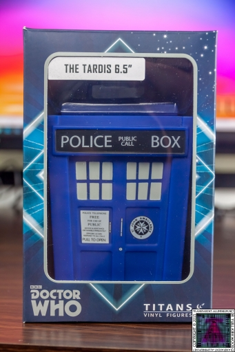 Doctor Who Vinyl TARDIS (2)