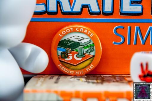 Loot Crate February 2015 Play Badge Pin