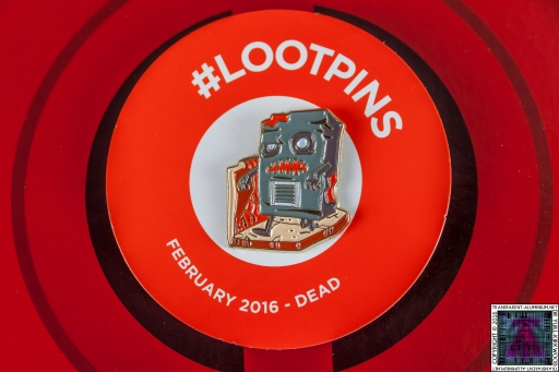 Loot Crate - February 2016 Badge