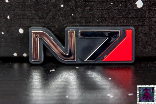 Mass Effect N7 Car Emblem