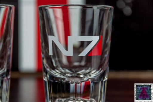N7 Mass Effect Shot Glass (2)
