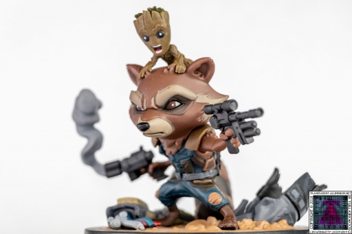Rocket and Baby Groot Q-Fig