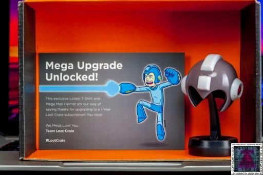 Loot Crate – Mega Upgrade Special 2015 Mega Man (1).jpg