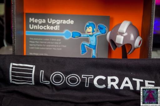 Loot Crate – Mega Upgrade Special 2015 Mega Man (2).jpg