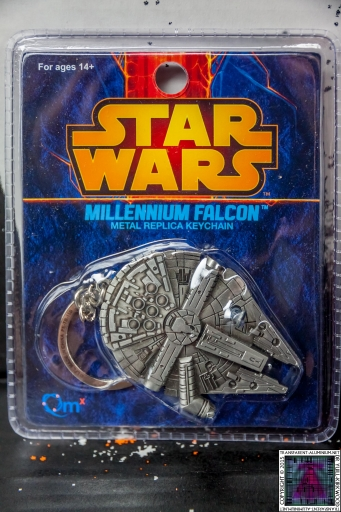 Star Wars Millennium Falcon Pewter Keychain