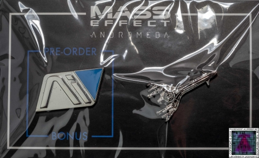 Mass Effect Andromeda Pins