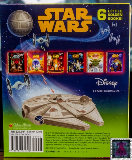 Star Wars Little Golden Book Set (2)