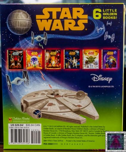 Star Wars Little Golden Book Set (2)